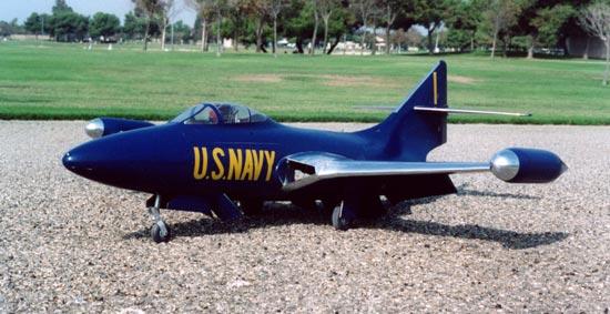 """Grumman F9F PANTHER Laser Cut Short Kit /& Plans 71/""""ws DUCTED FAN//Turbine Power"""